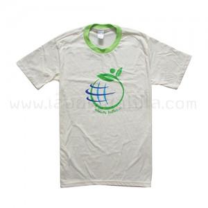 เสื้อยืด สีครีม รักษ์โลก