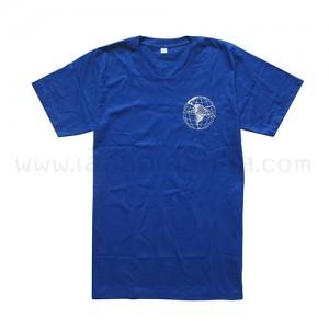 เสื้อยืด สีน้ำเงิน First Planet