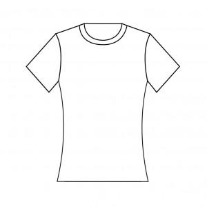 เสื้อยืดคอกลมแขนสั้น ผู้หญิง